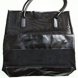 Burberry Fragrance Handbag Carry All Weekend Tote